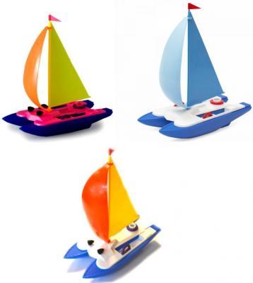 Игрушка для купания для ванны Росигрушка Катамаран 9114 в ассортименте игрушки для ванны росигрушка набор для купания по щучьему велению