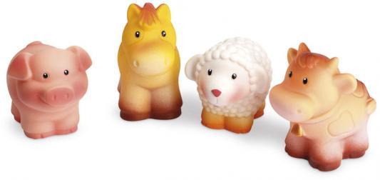 Купить Набор игрушек Огонек Домашние животные С-1056 6 см С-1157, разноцветный, Игрушки для купания