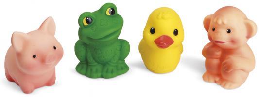 Резиновая игрушка для ванны Огонек Набор Малыши С-1017 5 см развивающая игрушка огонек уточка с утятами
