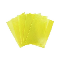 Набор обложек для тетрадей ф.А5, полипроп., апельс. корка, желтая, 95 мкр., разм. 210х348 мм, 5 шт. 05-0075-6 механизм сливной alca plast a08