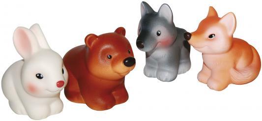 Купить Набор игрушек для ванны Огонек Лесные звери 6 см С-1193, разноцветный, Игрушки для купания