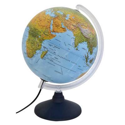Глобус ELITE с двойной картой, диаметр 30 см, подсветка, пласт подставка и меридиан 0330EL