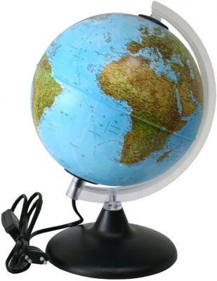 Глобус ELITE с двойной картой, диаметр 20 см, новая карта, подсветка, пласт. подставка и меридиан 0320EL/new