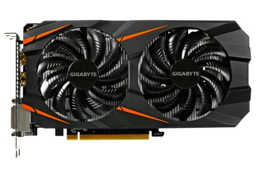 Видеокарта GigaByte GeForce GTX 1060 WINDFORCE OC 6G PCI-E 6144Mb GDDR5 192 Bit Retail (GV-N1060WF2OC-6GD)