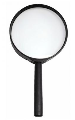 Лупа канцелярская, диаметр 75 мм, увеличение 3 SMG02