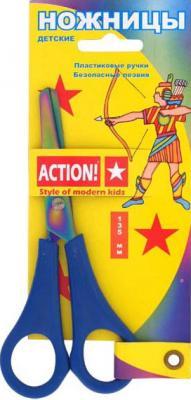 Ножницы детские Action! ASC202 13.5 см в ассортименте канцелярия milan ножницы детские 13 4 см