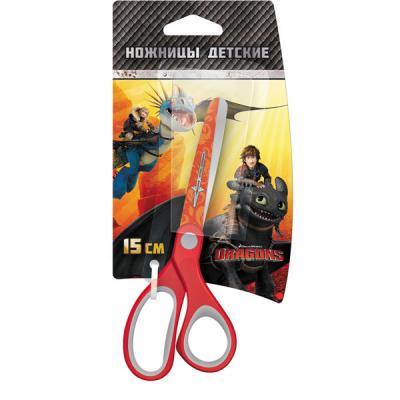 Ножницы детские Action! DRAGONS 15 см в ассортименте DR-ASC265