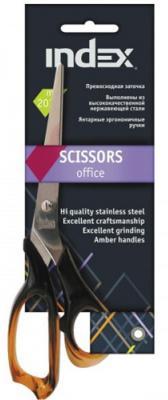 Ножницы, 20,3 см, цв.ручек янтарный