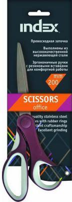 Ножницы Index ISC500 20 см в ассортименте
