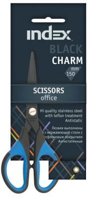 Ножницы Index Black Charm 15 см ISC701