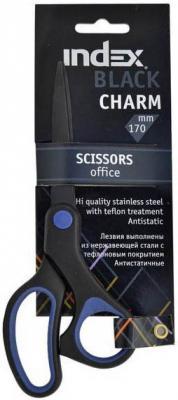 Ножницы Index Black Charm 17 см ISC703