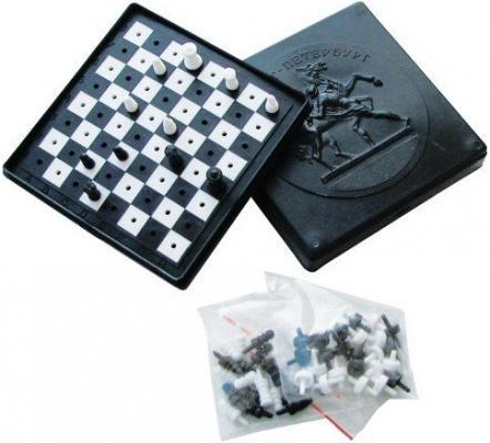 Настольная игра ПЛЕЙДОРАДО логическая Шахматы и шашки 40005