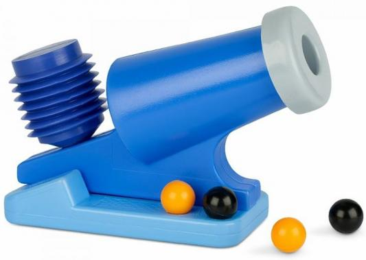 Пушка Росигрушка Пушка со снарядами синий  9299