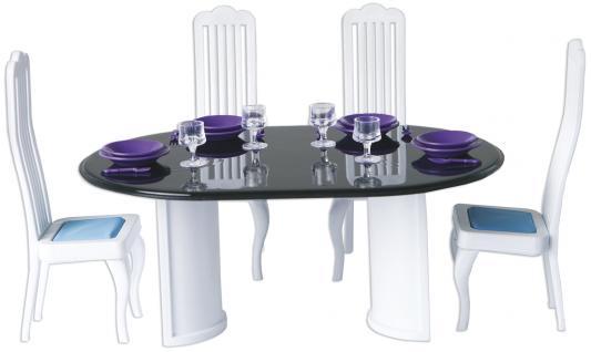 Набор мебели Огонек Столовая Конфетти С-1332 игрушечная столовая для кукол огонек конфетти