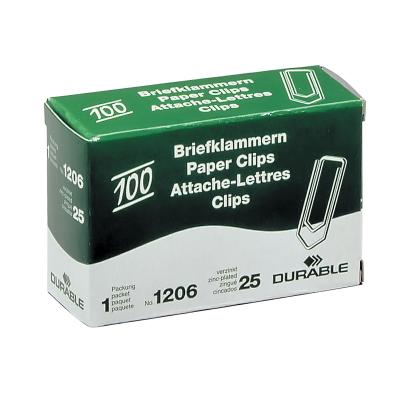 Скрепки 26 мм, оцинкованные, 100 шт 1206-25
