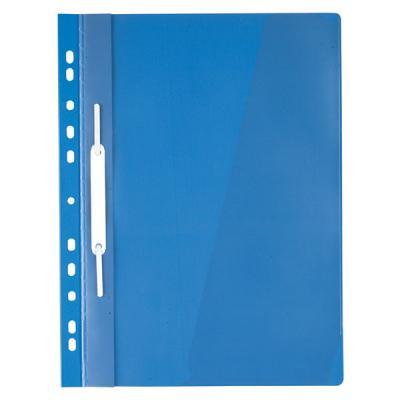 Папка-скоросшиватель с европланкой, ф.А4, синяя папка скоросшиватель с европланкой ф а4 синяя