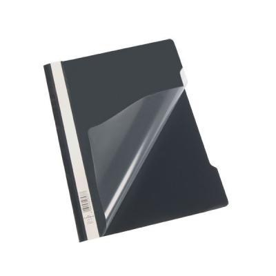 Папка-скоросшиватель, черная, ф. А4, штрих-код все цены