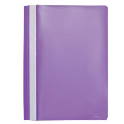 Папка-скоросшиватель, А4, фиолетовая I200/V папки канцелярские centrum папка регистр а4 5 см фиолетовая