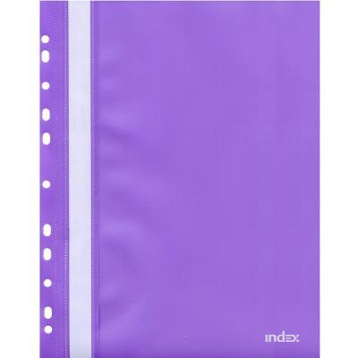 Папка-скоросшиватель с европланкой, А4, фиолетовая 319/11/R папки канцелярские centrum папка регистр а4 5 см фиолетовая