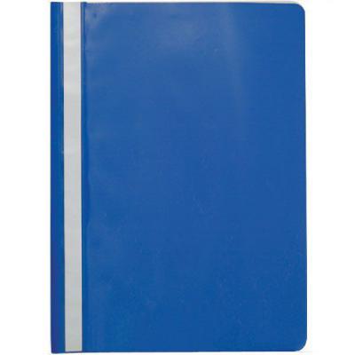 Папка-скоросшиватель, синяя, ф. А4 папка скоросшиватель с европланкой ф а4 синяя