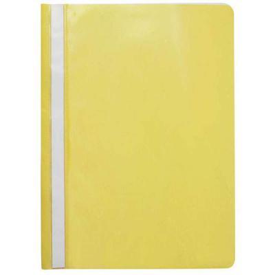 Папка-скоросшиватель, желтая, ф. А4, с перфорацией KS-320B/02/P папка скоросшиватель красная ф а4 с перфорацией ks 320b 01 p