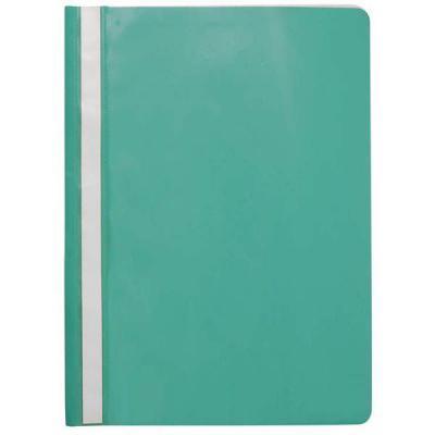 Папка-скоросшиватель, зеленая, ф. А4, с перфорацией KS-320B/03/P папка скоросшиватель красная ф а4 с перфорацией ks 320b 01 p
