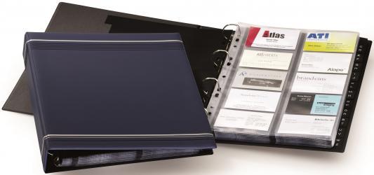 Визитница Durable VISIFIX 400 шт синий 2388-07