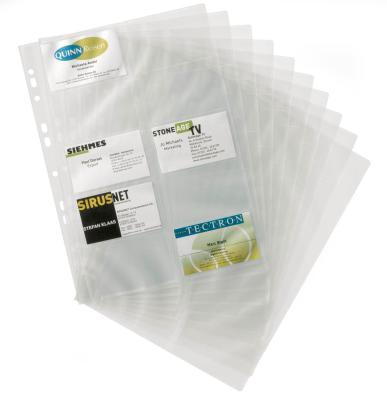 Блок для визитницы Durable 2389-19 белый