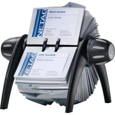 Визитница Durable VISIFIX FLIP 400 шт черный 2417-01