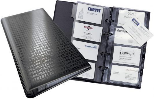 Визитница Durable VISIFIX-CENTIUM 200 шт черный 2403-01
