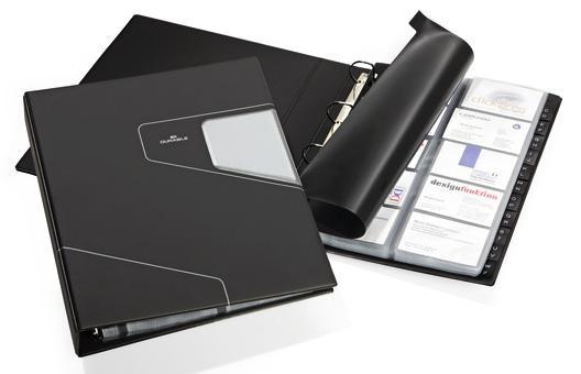 Визитница Durable VISIFIX PRO 400 шт антрацит 2462-58 визитница durable business card box 20 шт серебристый 2415 23