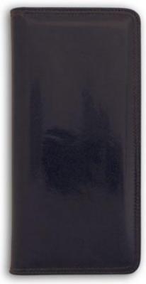 Визитница настольная, блок 128 визиток, 260х118 мм, кожзам, черная ICC128/1/BK