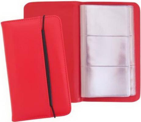 Визитница Index блок 144 визитки красный ICH04/RD