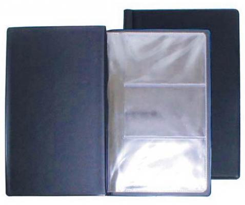 Визитница Panta Plast 03-0210-2/ТС 60 шт синий