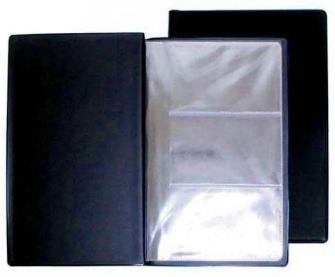Визитница Panta Plast 03-0210-2/Черн 60 шт черный визитница panta plast 03 0220 2 черн 60 шт черный