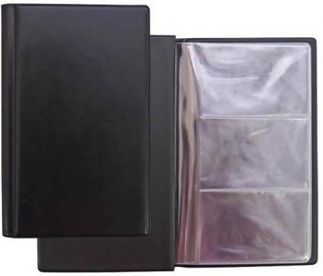 Визитница Panta Plast 03-0220-2/Черн 60 шт черный визитница panta plast 03 0220 2 черн 60 шт черный