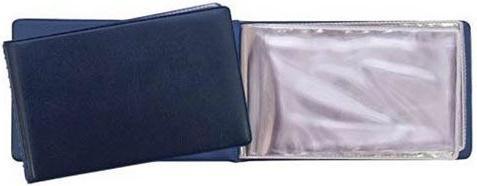 Визитница Panta Plast PVC 03-0730-2/ТС 24 шт синий визитница panta plast 03 0220 2 черн 60 шт черный