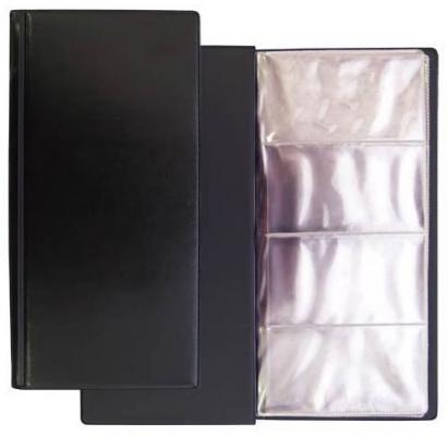 Визитница Panta Plast 03-1191-2/Черн 96 шт черный визитница panta plast 03 0220 2 черн 60 шт черный