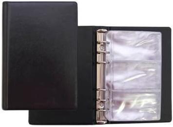 Визитница Panta Plast Vinyl 120 шт черный 03-3041-2/ЧернV