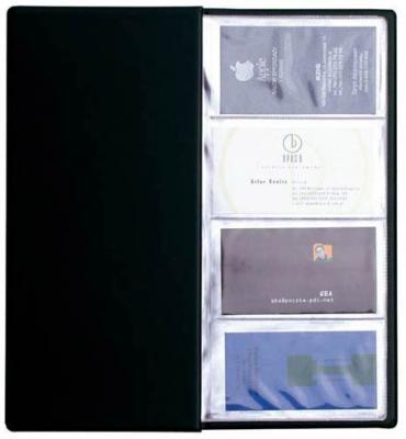 Визитница Panta Plast 03-1160-2/Черн 96 шт черный визитница panta plast 03 0220 2 черн 60 шт черный