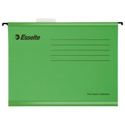 Подвесная папка ESSELTE PENDAFLEX ECO, ф.А4, 25 шт, зеленый, цена за 1шт 90318 папка уголок esselte 150 мкм глянцевые синие цена за штуку