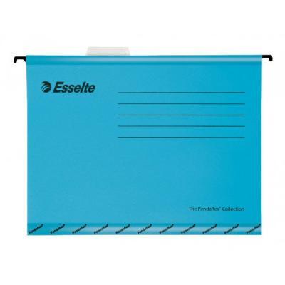 Подвесная папка ESSELTE PENDAFLEX PLUS FOOLSCAP, 25 шт, синий, цена за 1шт 90334 папка уголок esselte 150 мкм глянцевые синие цена за штуку