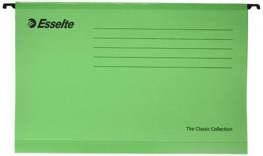 Подвесная папка ESSELTE PENDAFLEX PLUS FOOLSCAP, 25 шт, зеленый, цена за 1шт 90337 папка уголок esselte 150 мкм глянцевые синие цена за штуку