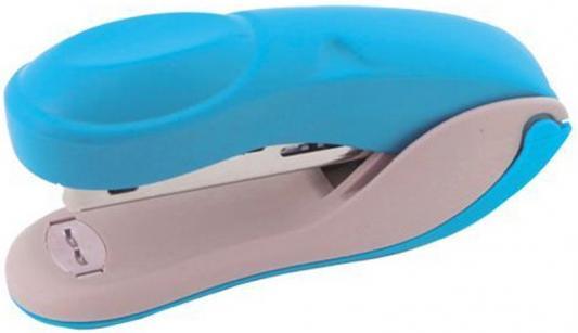 Степлер COLOURPLAY, скоба №24/6, на 20 листов, пластиковый корпус, неоновый голубой ICS610/BU степлер index ips610 bu 20 листов