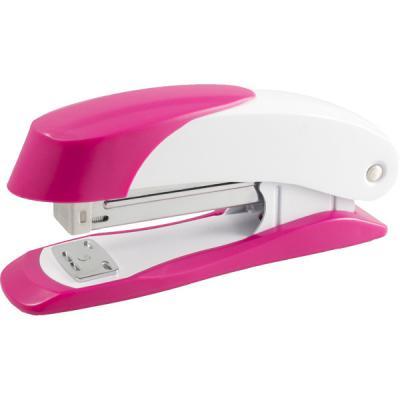 Степлер Н400, скоба №24/6, сшивает до 20 листов, розовый 2630118 степлер sн486 скоба 24 6 сшивает до 20 листов светло серый 2631307