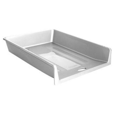 Лоток для бумаг, горизонтальный, серый ЛТ151
