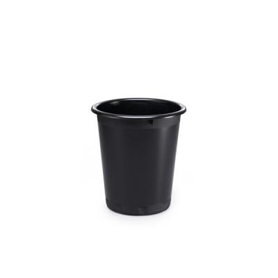 Корзина для мусора BASIC, 13 л, черная Количество в блоке:6 Количество в коробке:6 1701572-221