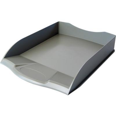 Лоток для бумаг горизонтальный ПРЕМИУМ, серый IT806Gy