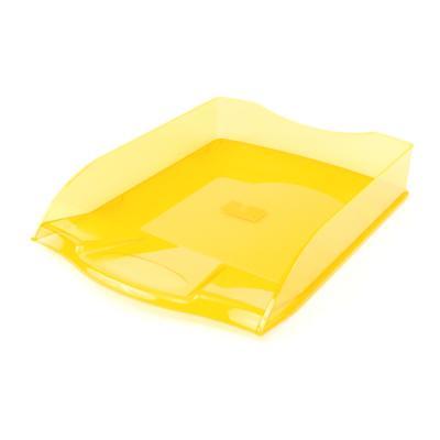 Лоток для бумаг горизонтальный ПРЕМИУМ, желтый IT806YL