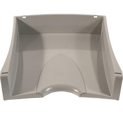 Лоток для бумаг горизонтальный LUX, серый IT808Gy